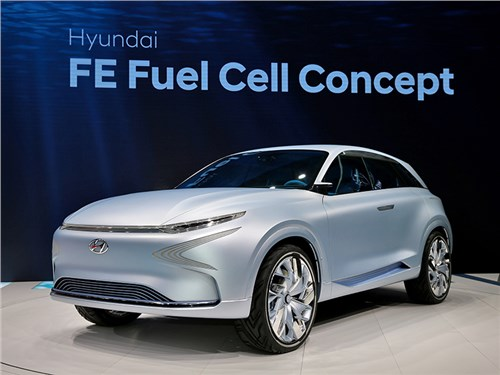 Новость про Hyundai - Future Eco (FE) Fuel Cell 2017
