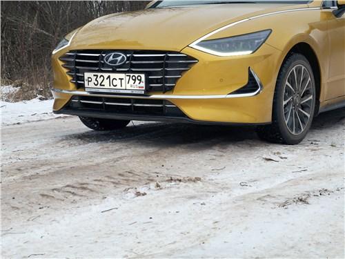 Hyundai Sonata 2020 передний свес