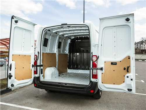 Предпросмотр renault master 2014 грузовой отсек