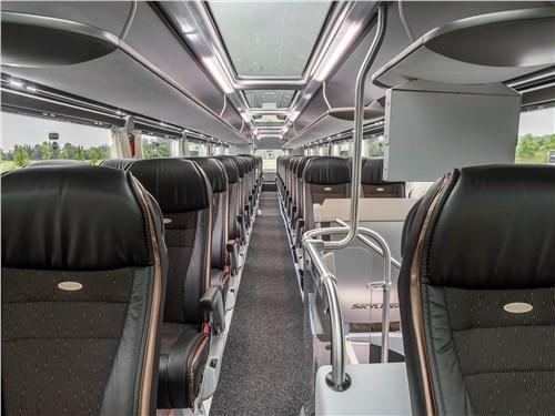 Немецкий автопроизводитель доказал, что и второй этаж автобуса может быть потрясающе комфортным