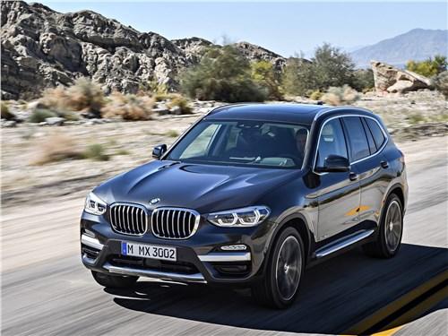 Герои нашего времени X3 - BMW X3 2018 вид спереди сверху