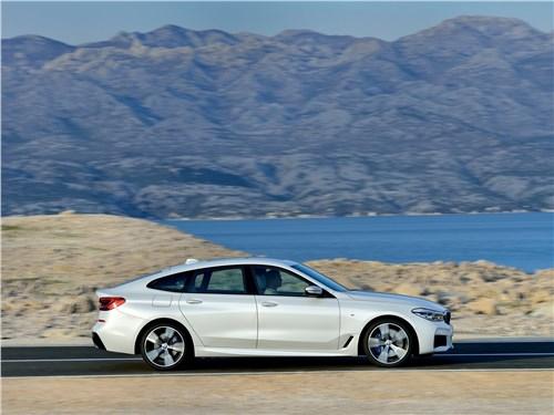 Летом лучше без крыши (Обзор российского рынка открытых автомобилей - 2007) 6 series - BMW 6-Series Gran Turismo 2018 вид сбоку