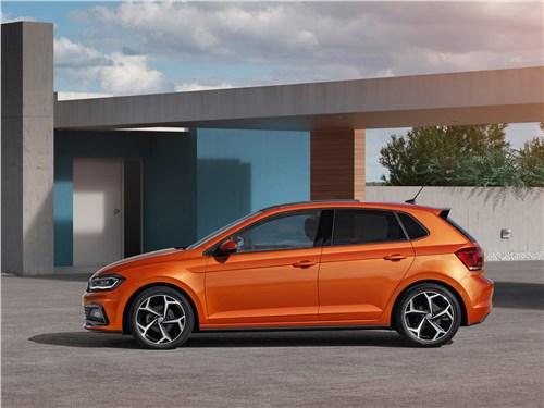 Volkswagen Polo 2018 вид сбоку