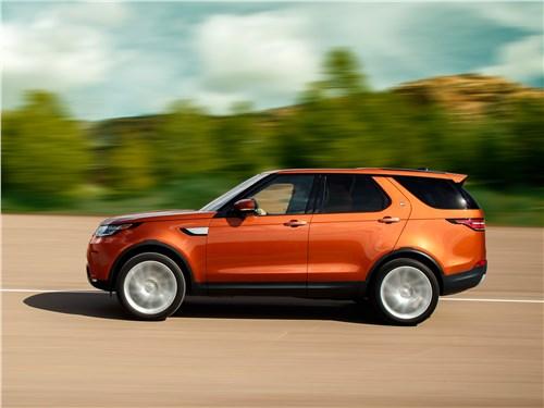 Land Rover Discovery 2017 вид сбоку