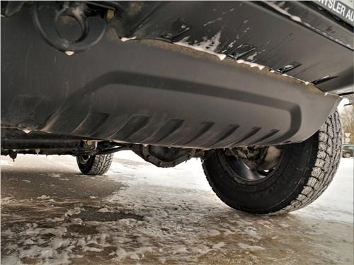 Jeep Wrangler (2018) защита моторного отсека