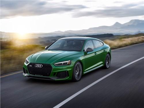 Audi RS5: теперь и Sportback