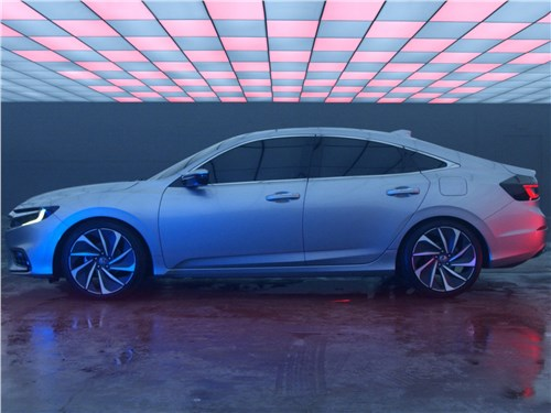 Honda Insight Concept 2018 вид сбоку