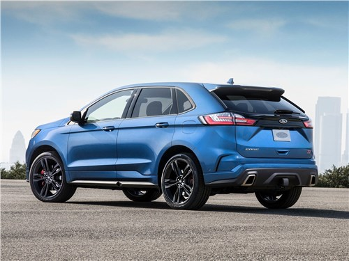 Ford Edge - Ford Edge ST 2019 вид сзади