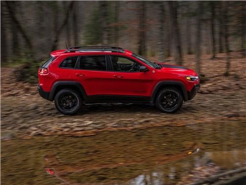 Предпросмотр jeep cherokee 2019 вид сбоку