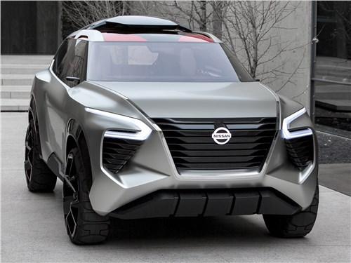Предпросмотр nissan xmotion concept 2018 вид спереди
