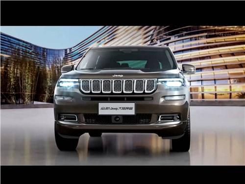 Предпросмотр jeep grand commander 2018 вид спереди