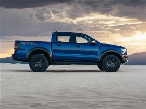 Ford Ranger Raptor 2019 вид сбоку