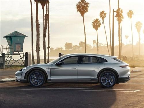 Porsche представил Taycan Cross Turismo