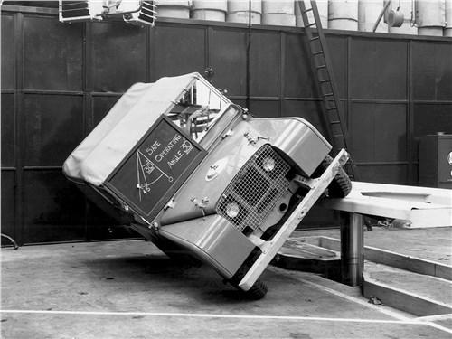 Со дня своего рождения Land Rover был готов к экстриму
