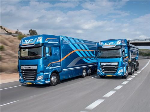 Продукы DAF в очередной раз удостоены награды «Лучший грузовой автомобиль года в мире». В 2018 году таковыми стали модели XF и CF