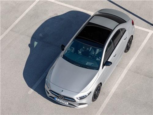 Предпросмотр mercedes-benz a-class 2019 вид сверху