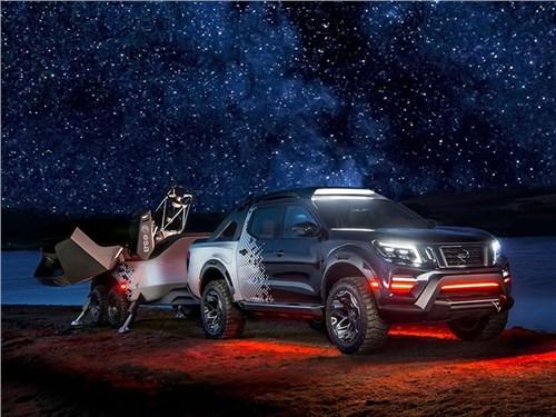 Новость про Nissan Navara - Nissan Navara Dark Sky Concept 2018