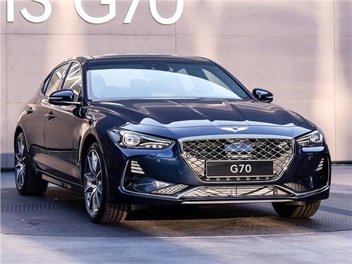 Новость про Hyundai Genesis - Genesis G70 2018