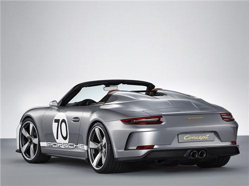 Новость про Porsche - Porsche 911 Speedster