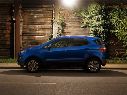 Ford EcoSport 2016 вид сбоку
