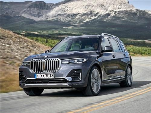 Новость про BMW - BMW X7 2019