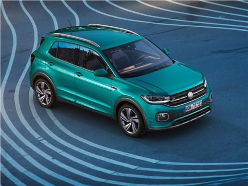 Volkswagen T-Cross 2019 вид спереди сверху