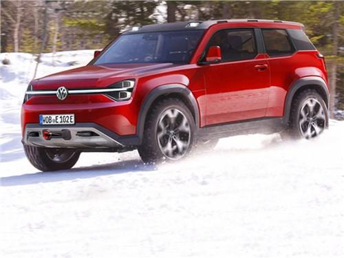 Новость про Volkswagen - Volkswagen T-Rug