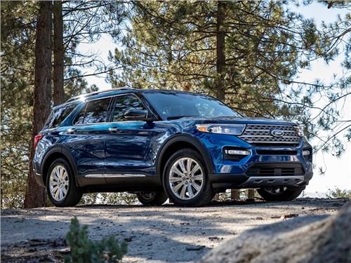 Новость про Ford Explorer - Ford Explorer 2020