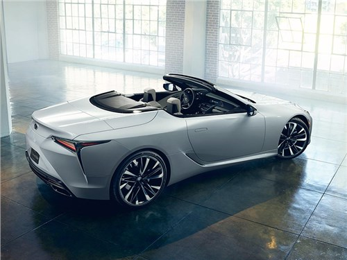 Lexus LC500 лишится крыши