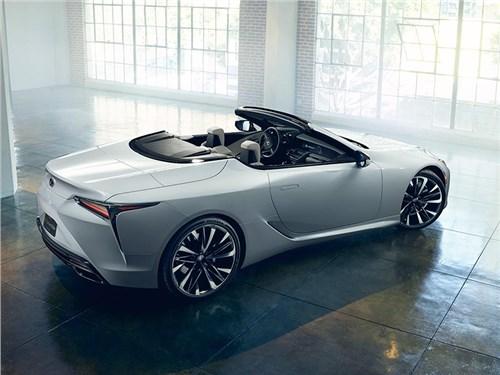 Новость про Lexus LC - Lexus LC500 2020