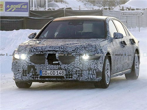 Обнаружен Mercedes S-Class нового поколения