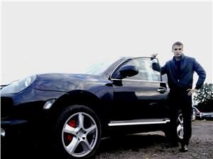 Студент без прав на Porsche Cayenne гонял по встречке
