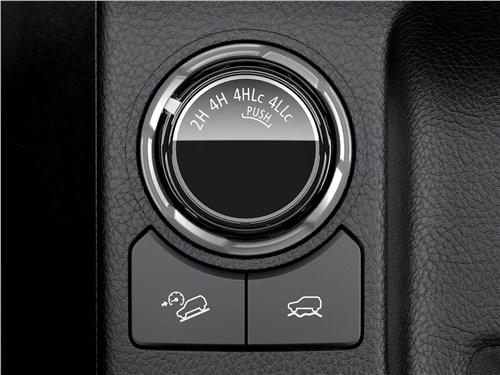 Mitsubishi L200 2020 выбор режимов движения