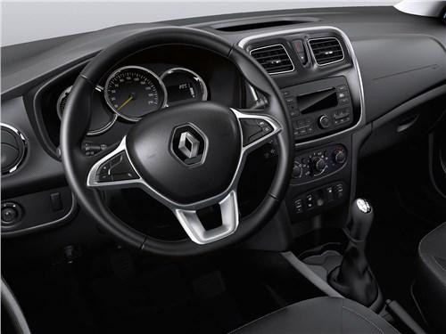 Renault Logan 2018 водительское место