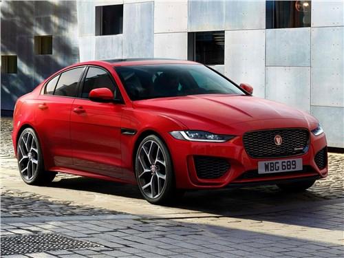 Jaguar XE 2020 вид спереди