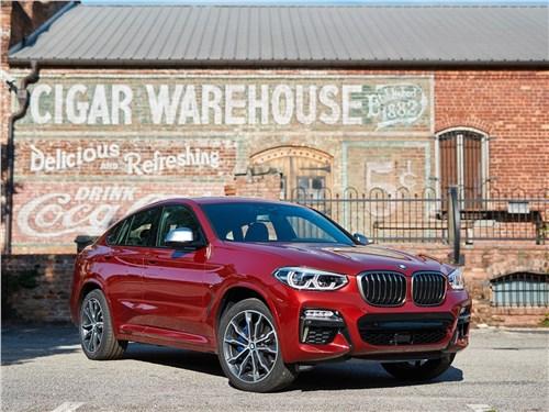 BMW X4 M - BMW X4 M 2019 вид спереди
