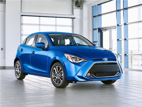 Представлен новый Toyota Yaris