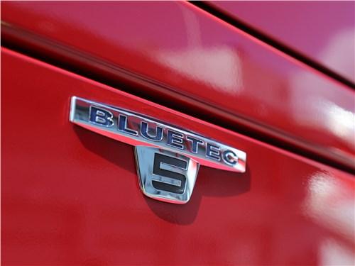 Технология BlueTec обеспечивает соблюдение экологического стандарта Euro 5