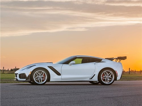Представлен «очень злой» Corvette