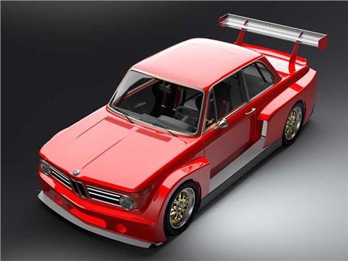 Классический BMW превратили в очень быстрый трек-кар