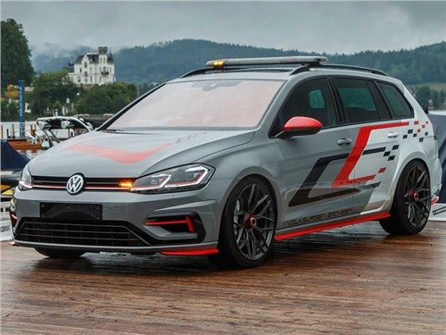 Новость про Volkswagen Golf GTI - Volkswagen Golf Estate R FighteR concept 2019