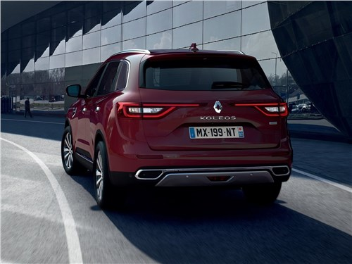 Renault Koleos - Renault Koleos 2020 вид сзади