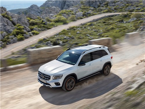 Mercedes-Benz GLB - Mercedes-Benz GLB 2020 вид сверху
