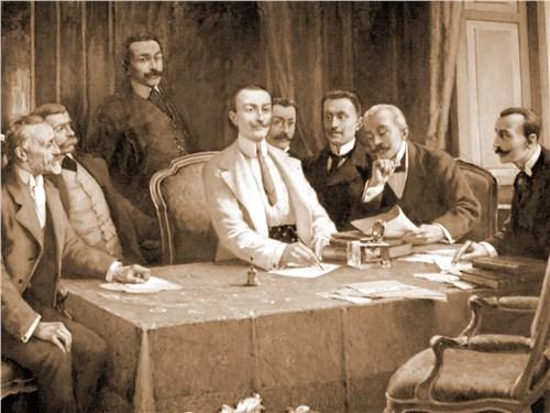 Отцы-основатели FIAT на учредительном собрании