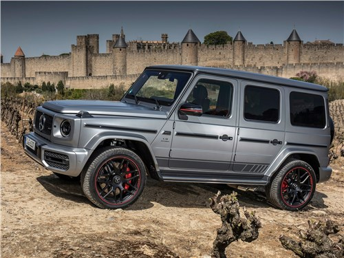 Mercedes-Benz G-Class AMG - Mercedes-Benz G63 AMG 2019 вид сбоку