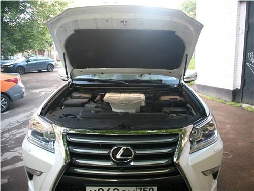Предпросмотр lexus gx 460 2014 моторный отсек
