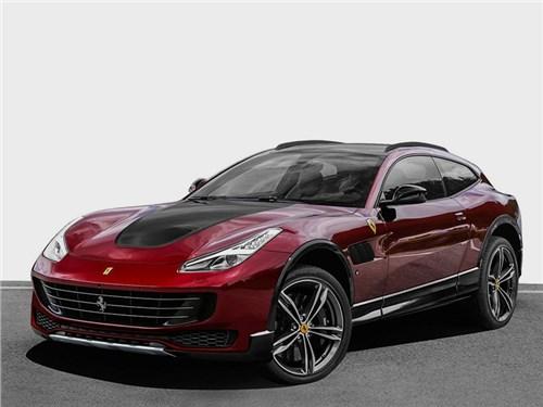 Новость про Ferrari - Ferrari Purosangue concept