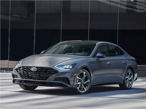 Новая Hyundai Sonata приедет в Россию с одним двигателем
