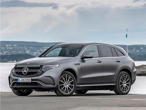 Новость про Mercedes-Benz - Mercedes-Benz EQC 2020