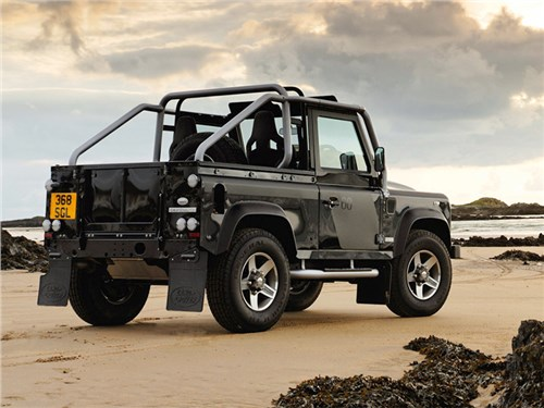 Новость про Land Rover Defender 90 - Land Rover Defender SVX 2008